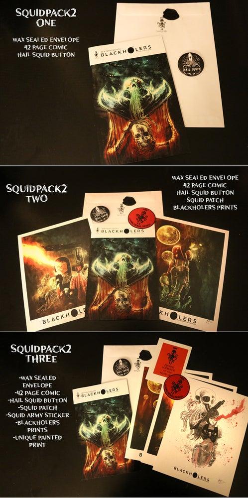 Image of BLACKHOLERS #2 & SQUIDPACKS