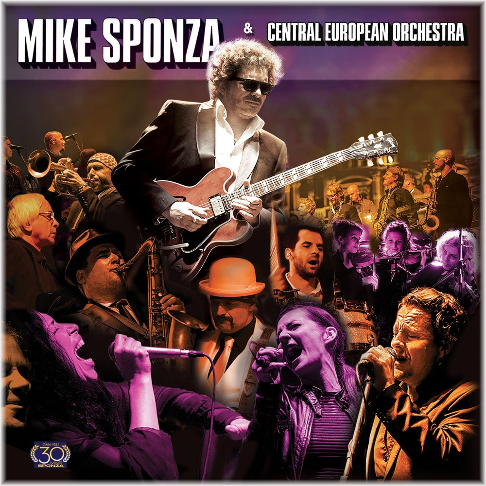 Image of Mike Sponza & Central European Orchestra (CD+DVD)