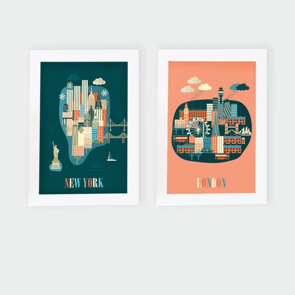 Image of Prints Tinyworld Collection