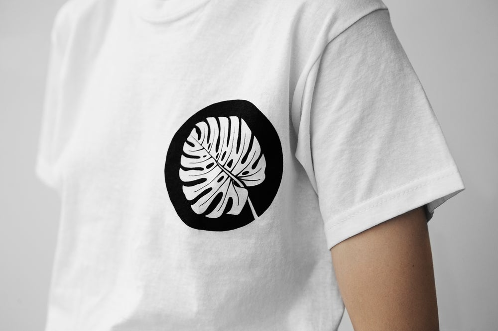 Image of Hand Printed Tshirt Medium