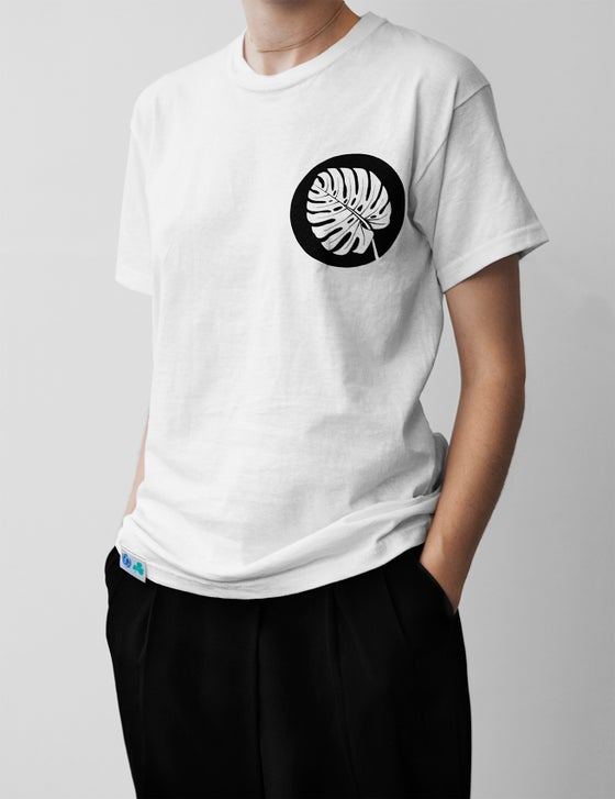 Image of Hand Printed Tshirt Small