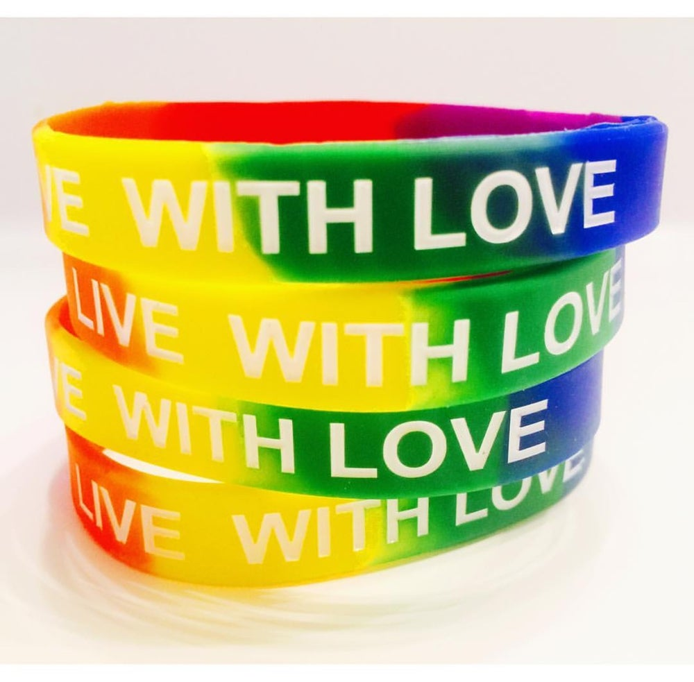 Image of WRISTBANDS - BLESSED/MAKE IT HAPPEN/LIVE WITH LOVE