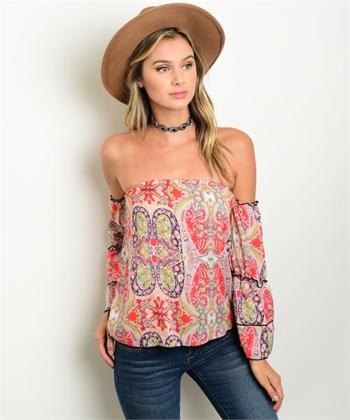 Image of Off shoulder chic