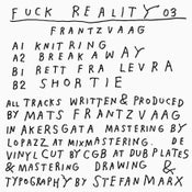 Image of Fuck Reality 03 - Frantzvaag - 12""