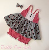 Image of Minnie Toss Hummingbird Top & Bloomer SET