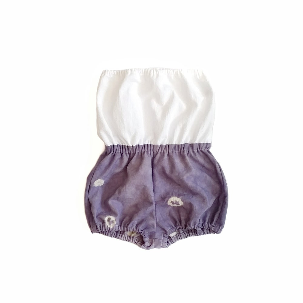 Image of Organic Shibori Playsuit