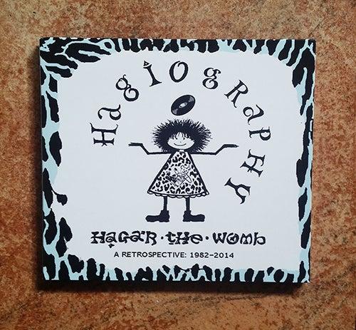 Image of Hagar The Womb > Hagiography • A Retrospective: 1982-2014 CD