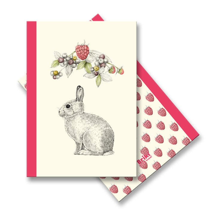 Image of Carnet A6 Lapin