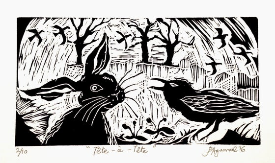 Image of Tête-à-Tête: the Hare and the Crow