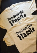 Image of Thou Shalt Not Hassle mens tee