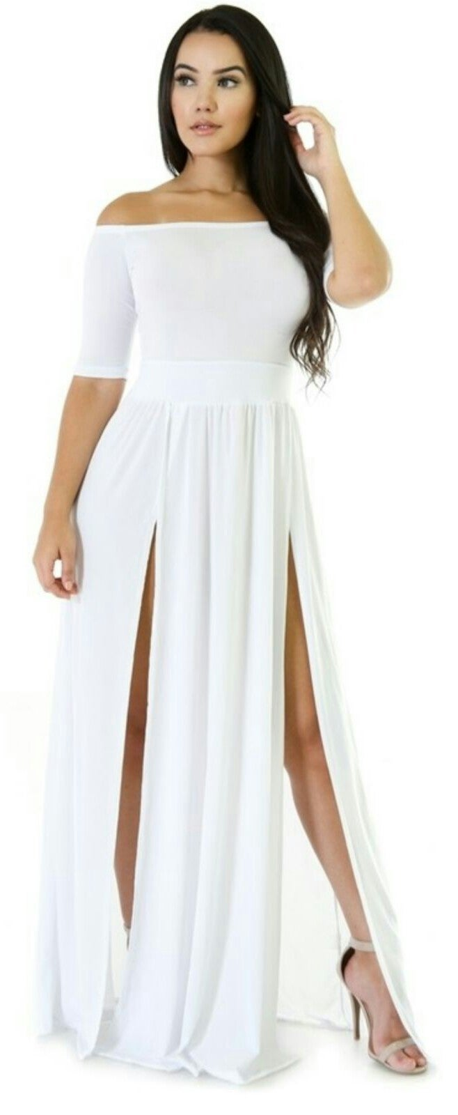 Image of High splits dress