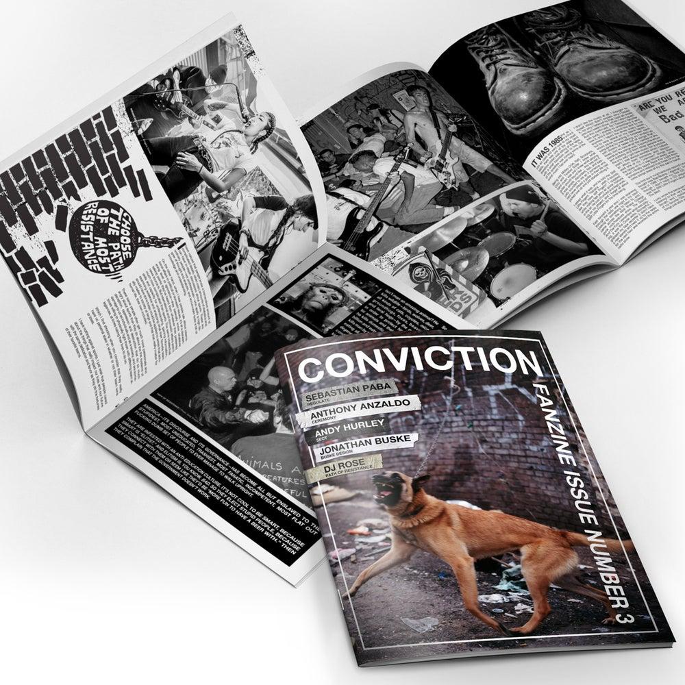 Image of Conviction Fanzine - Issue 3