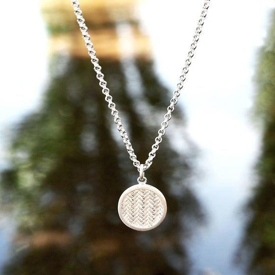 Image of Palmyrah Necklace Silver