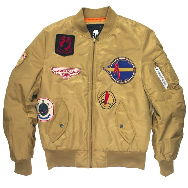 Image of FLIGHT BOMBSR JACKET | SAND