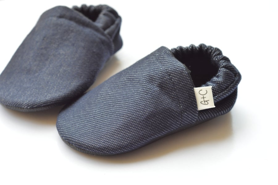 Image of Denim Knit