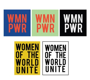 Image of WOMEN POWER STICKER PACK