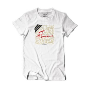 Image of Flame Official Tee (White)