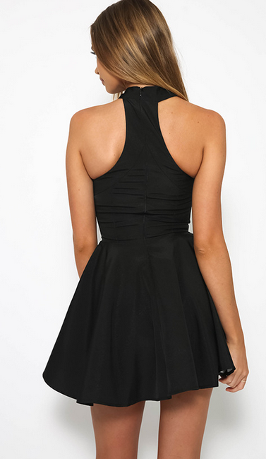 Image of Slim sexy strapless dress T-shirt dress