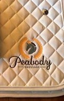 Image of Peabody Dressage Saddle Pad