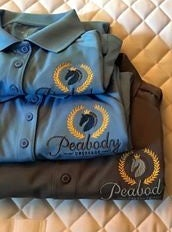 Image of Peabody Dressage Tech Fabric Polo Shirt