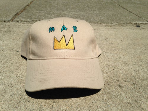 Image of MAB GOLD CROWN DAD CAPS
