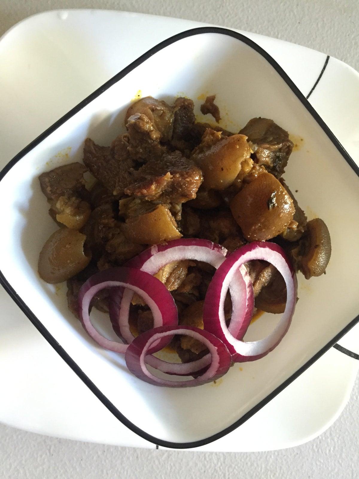 Image of Goat Meat Nkwobi