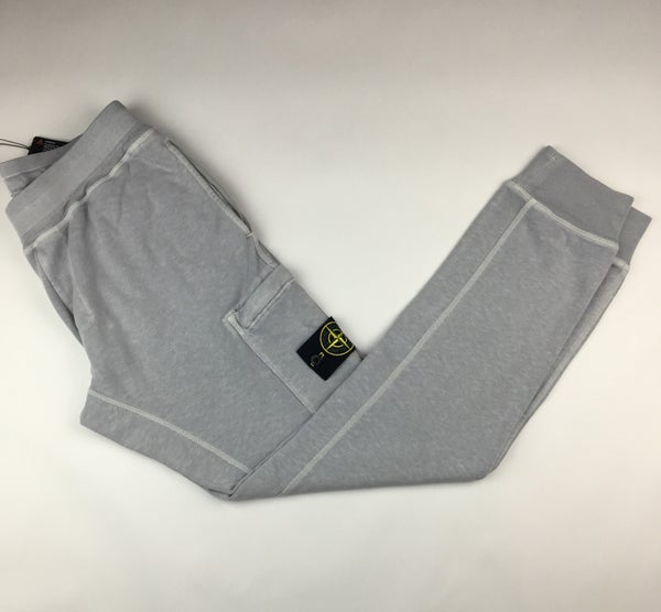 Image of Stone island track trousers light grey
