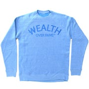 Image of AC x Wealth Over Fame Tonal Crewneck
