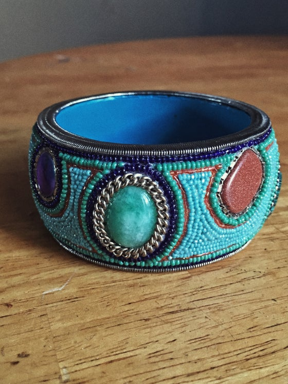 Image of Turquoise Mosaic Bangle