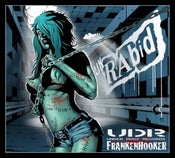 Image of Frankenhooker CD &Bloody History cd 26tracks of SLAeaZY PUNK RoCk