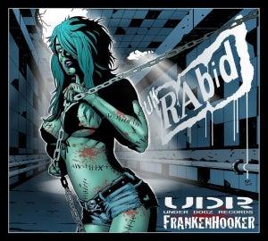 Image of Frankenhooker CD &Bloody History cd 26tracks of SLAeaZY PUNK RoCk