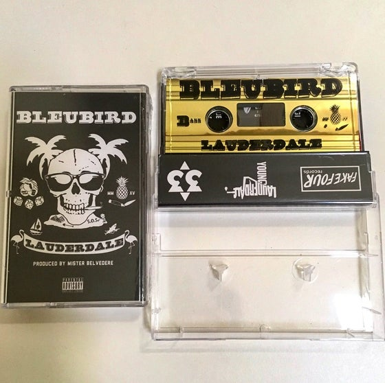 "Image of BLEUBIRD ""LAUDERDALE' TAPE"