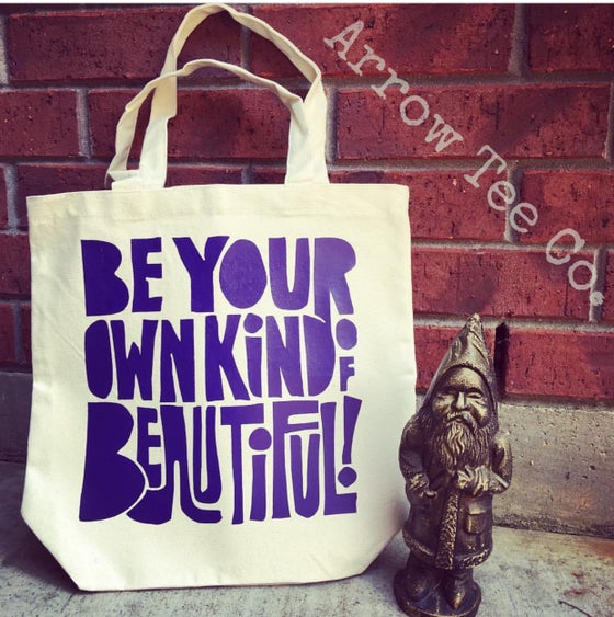 Image of BE BEAUTIFUL tote