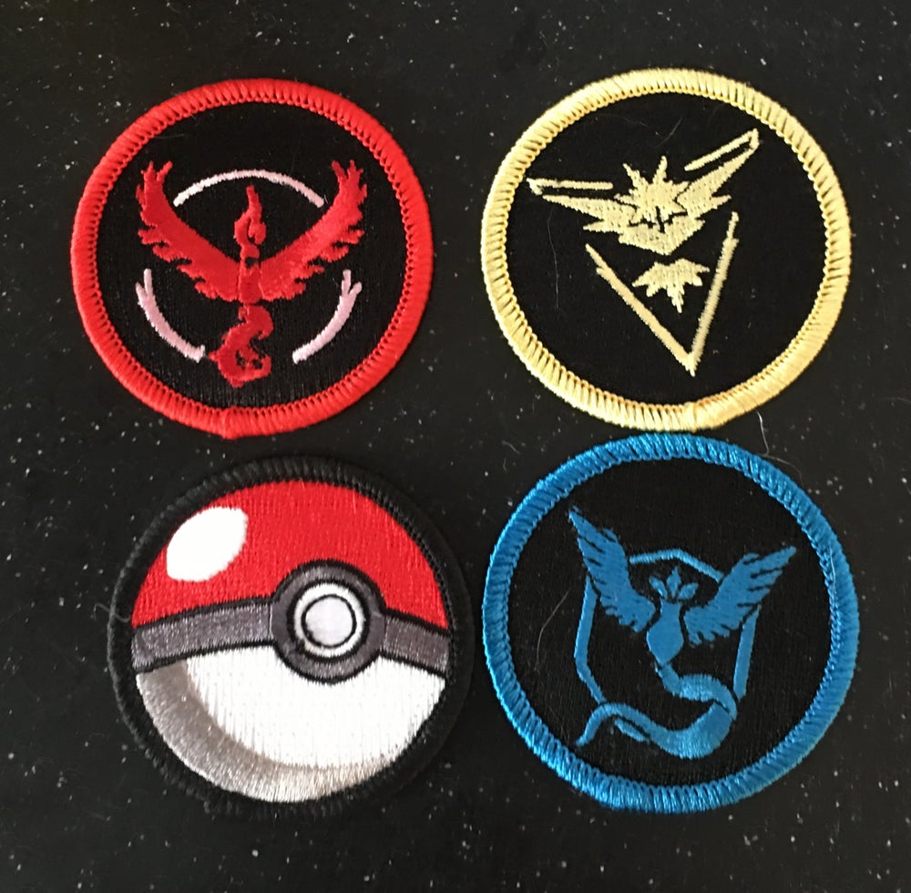 "Image of PoGo 2"" Patrol Patch 4 pack set IN STOCK"