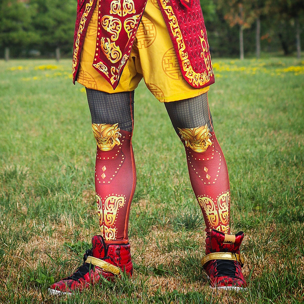 Image of Monkey King Grappling Spats