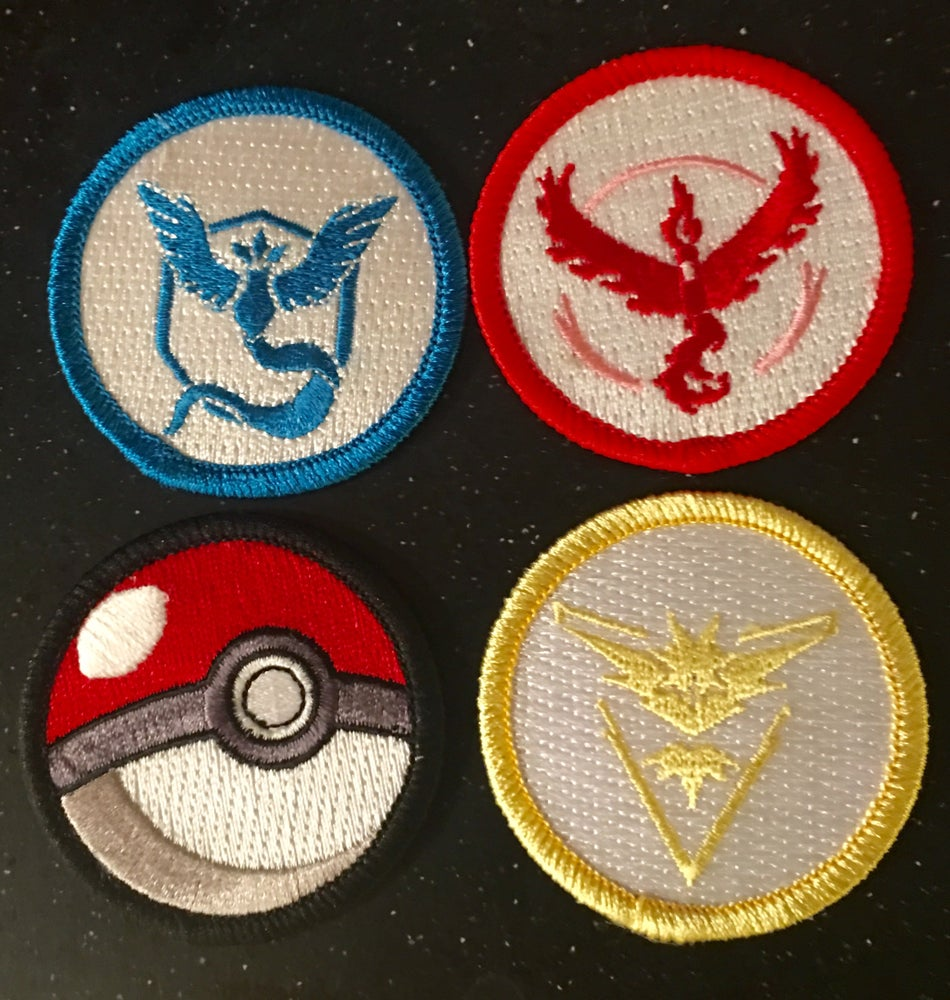 """Image of PoGo 2"""" Patrol Patch 4 pack set IN STOCK"""
