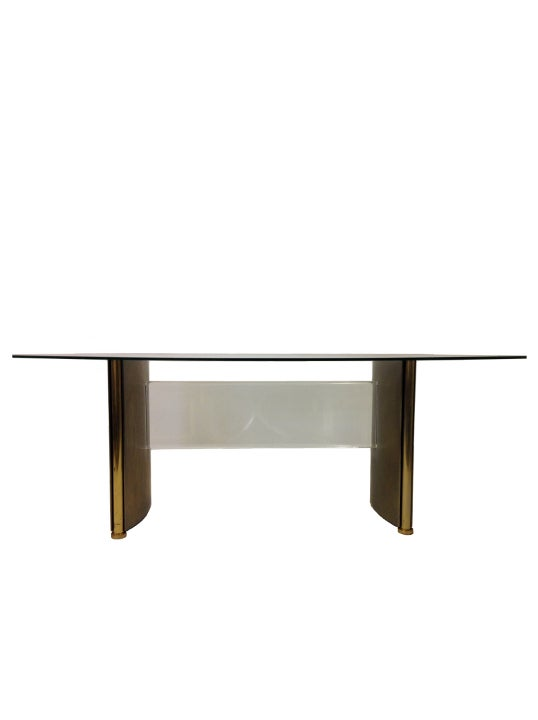 Image of Dining Table or Desk by Belgo Chrome