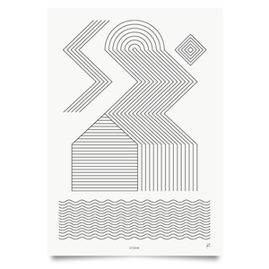Image of Storm print