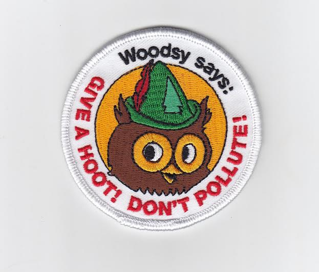 Image of Woodsy Owl patch