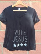 Image of I Vote Jesus ( womens Cut)