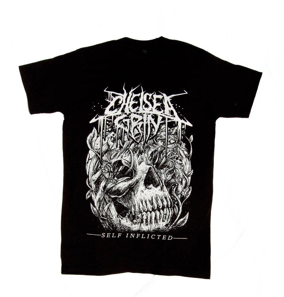 Image of Self Inflicted Skull Tee