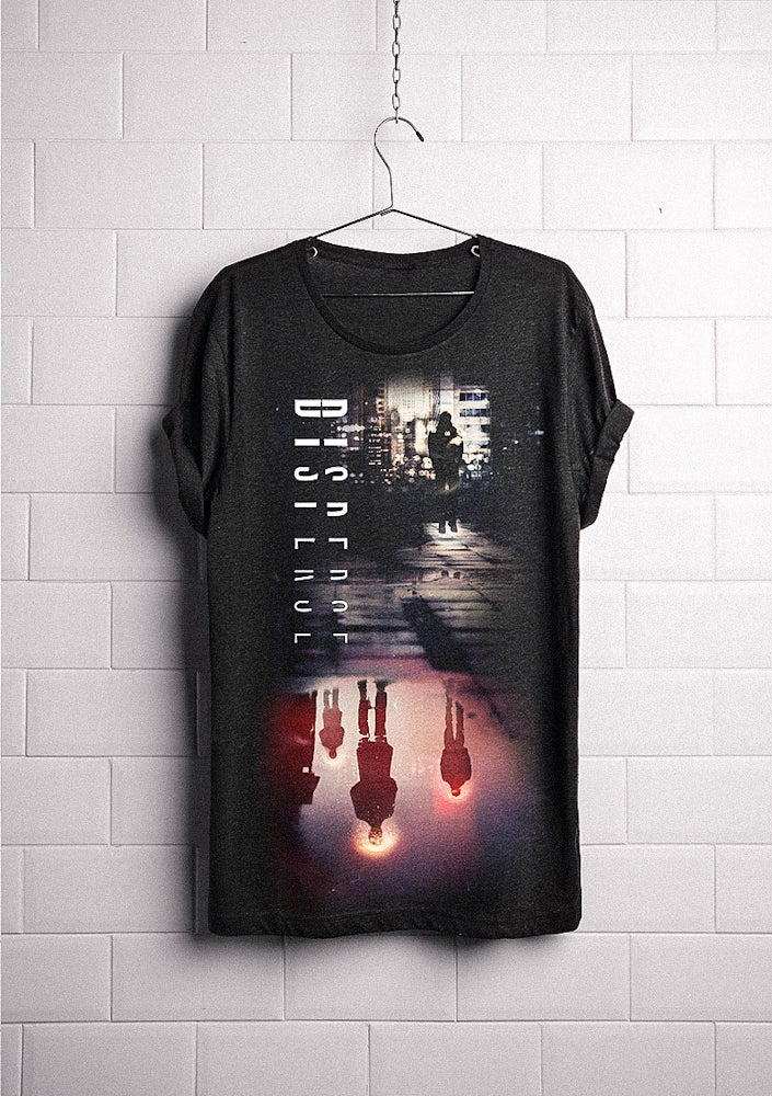 Image of DispersE (new logo + new design) deep neck tee