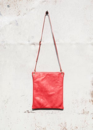 Image of Leather Shoulder Bag (A4)