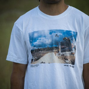 Image of Throwback | T-Shirt | White/Harookz Print