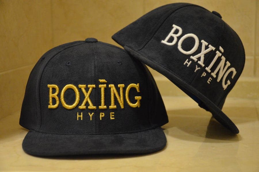 Image of NAVY suede Collection Snapbacks ( 4 Styles)