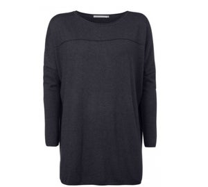 Image of YAYA Stripe at back sweater