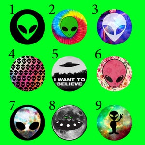 "Image of Alien Plugs (sizes 2g-2"")"