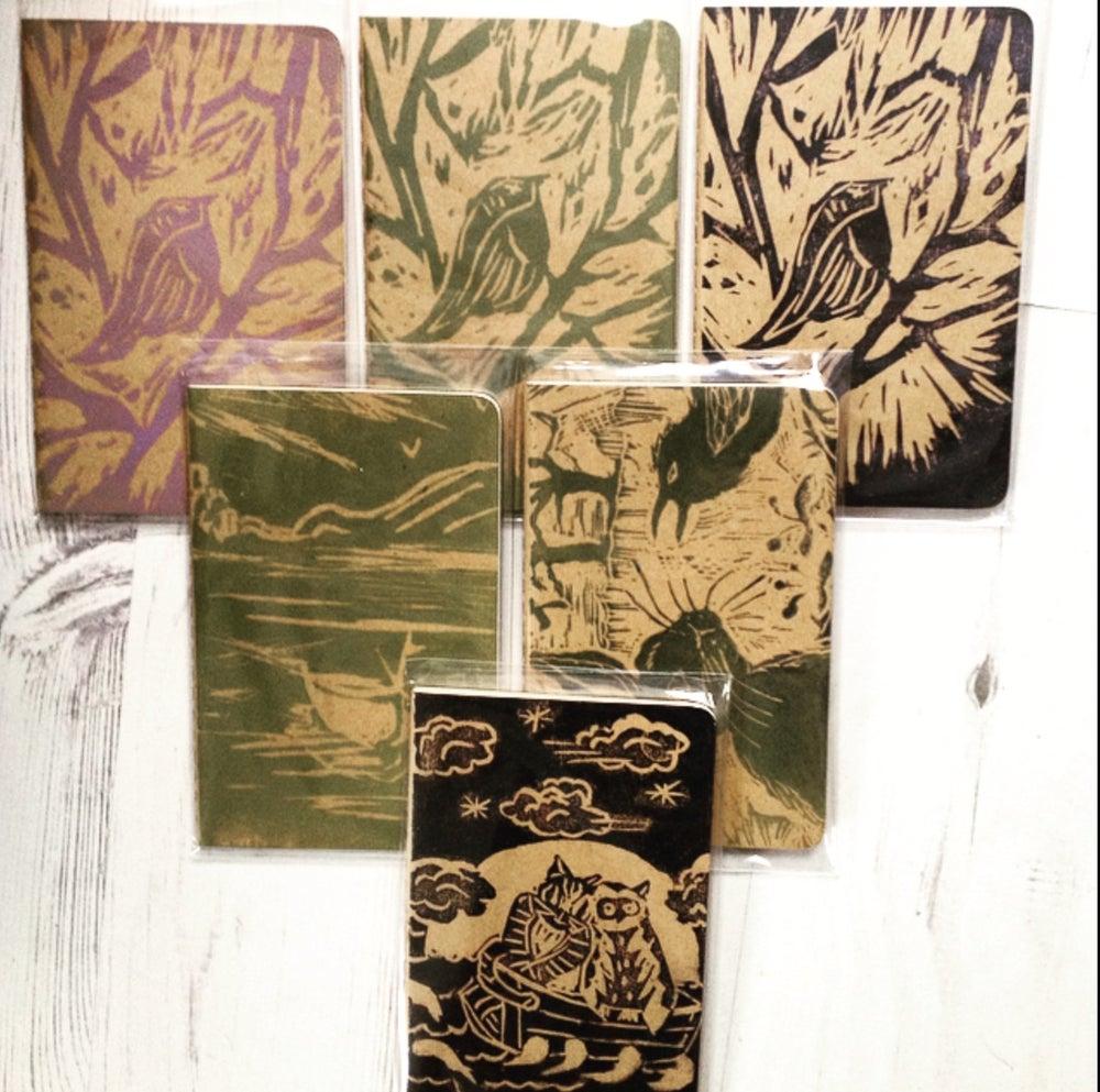Image of Handprinted Pocket Cahiers