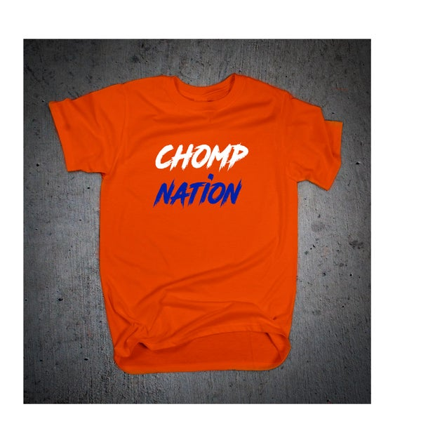 "Image of ""Chomp Nation"" tee"