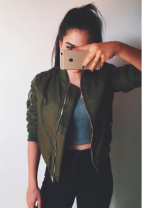 Image of FASHION HOT CUTE GREEN JACKET